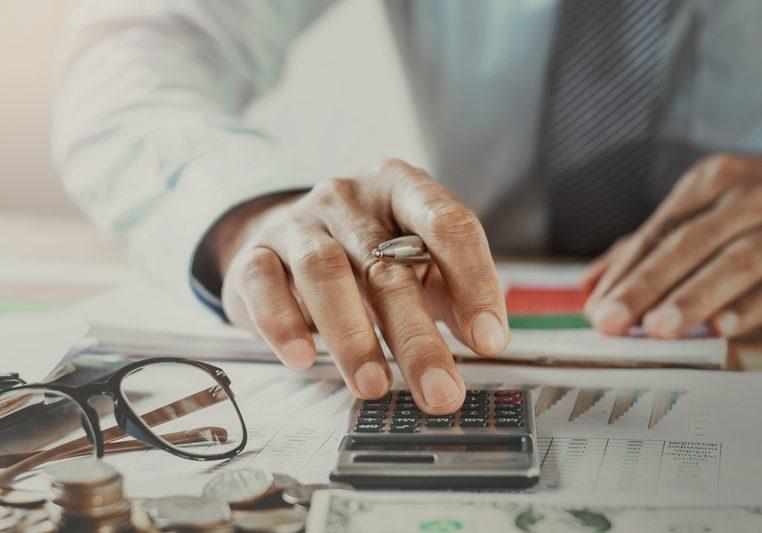 accountant working